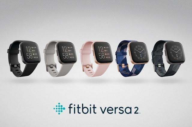 Fitbit Versa 2 Holds Alexa