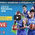 Gilas Pilipinas Vs. China Asian Games 2018, Live Stream,Replay