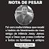 Nota de pesar do Vice-prefeito Rafael do Badá pelo falecimento do seu amigo de infância Jessy James