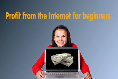Profit from the Internet for Beginners The best 3 areas