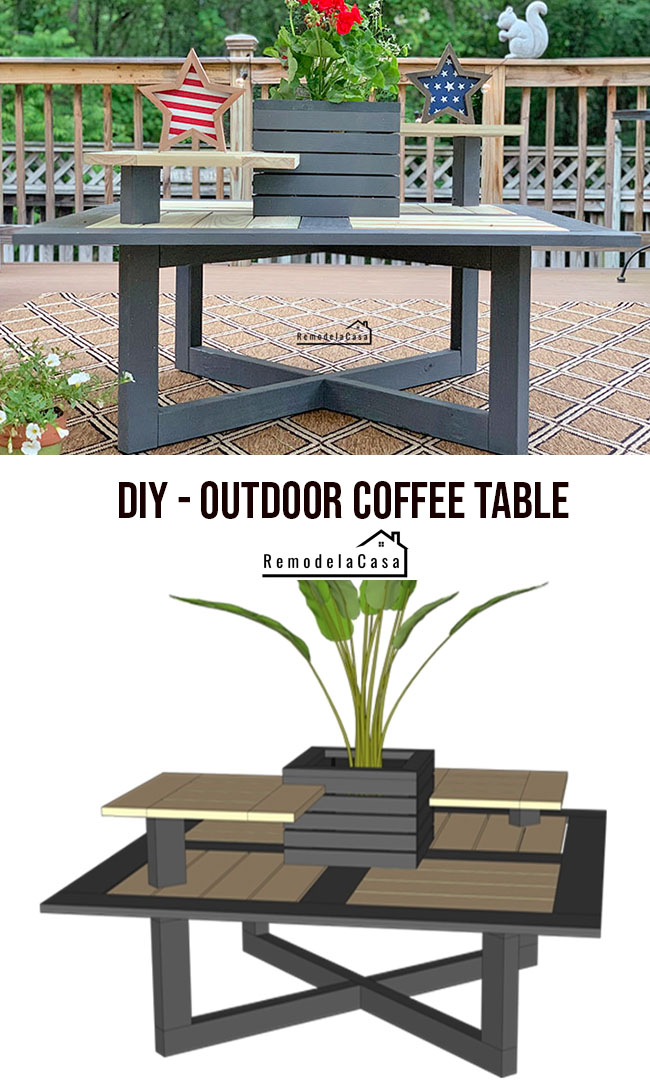 plants for outdoor coffee table