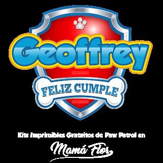 Logo de Paw Patrol: Geoffrey