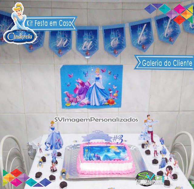 Festa Cinderela Princesas dicas e ideias para decoração de festa personalizados