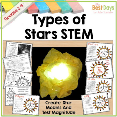 Types of Stars STEM project