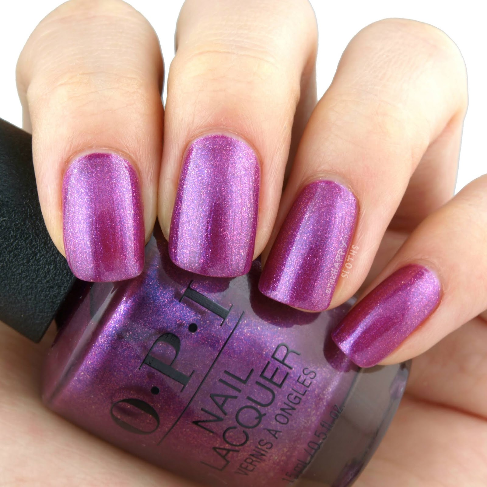 OPI   Holiday 2018 Nutcracker Collection   Berry Fairy Fun: Review and Swatches