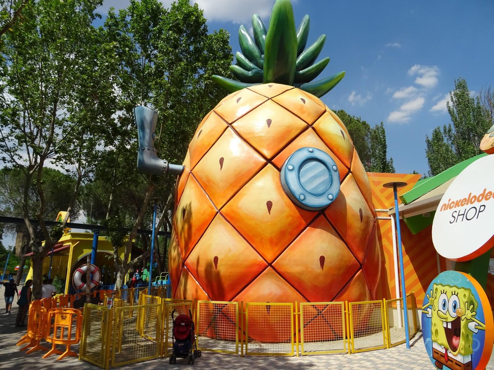 Universo viajero parque de atracciones madrid - La casa del parque ...