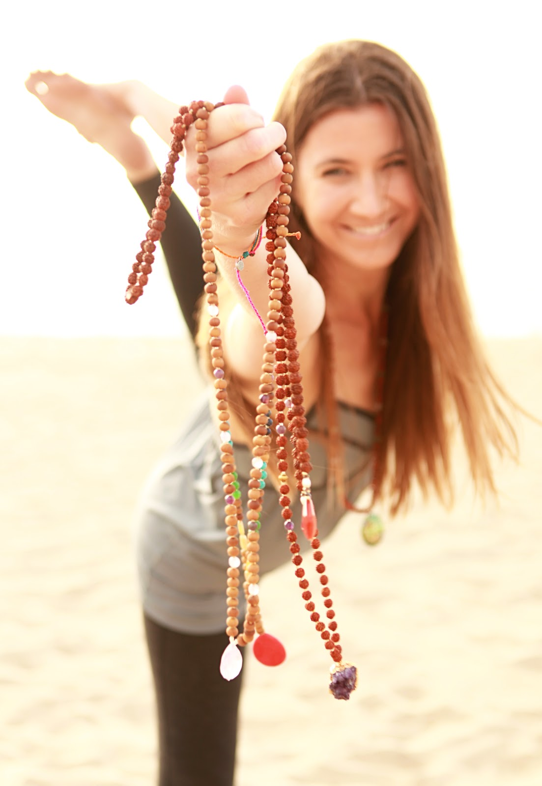 Shop Eat Yoga Shop Mala Bead Necklaces By Chelsea Welch