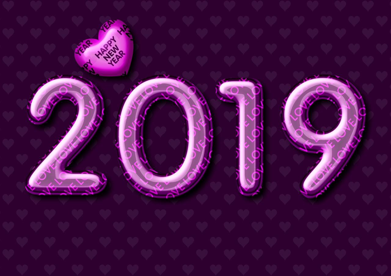 love happy new year 2019
