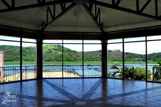 Gazebo with a view of Laguna Lake