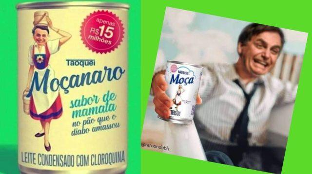 Leite Condensado deixa bolsonaristas de saia justa nas redes sociais