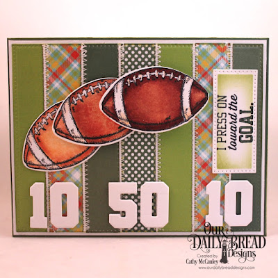 Our Daily Bread Designs Stamp/Die Duos: Football, Paper Collections:  Birthday Brights and Boho Bolds, Our Daily Bread Designs Custom Dies: Pierced Rectangles, Sports Jerseys