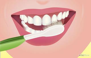 วิธีแปรงฟัน