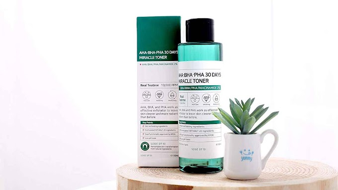 Komposisi dan manfaat SOME BY MI AHA BHA PHA 30 Days Miracle Toner