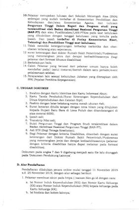 Informasi Penerimaan CPNS Pemerintah Kabupaten Batu Bara Sumatera Utara Tahun 2019