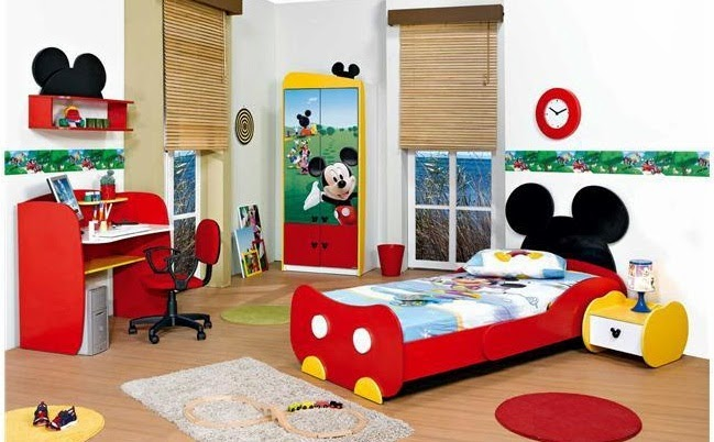 dormitorio temático infantil