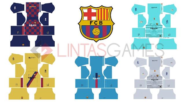 Kits dan Logo Barcelona 2019-2020
