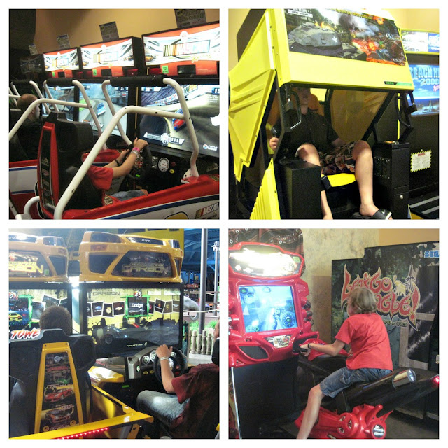 indoor theme park racing games