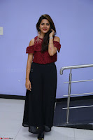 Pavani Gangireddy in Cute Black Skirt Maroon Top at 9 Movie Teaser Launch 5th May 2017  Exclusive 017.JPG