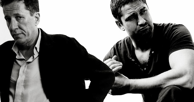 Geoffrey Rush si Gerard Butler