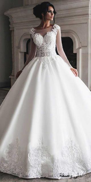 احدث بدلات اعراس ، تشكيلة جديدة مميزة من بدلات اعراس 2020 لاناقتك