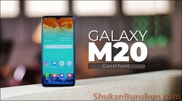 Cara Mengganti Font Samsung Galaxy M20 Jenis Huruf