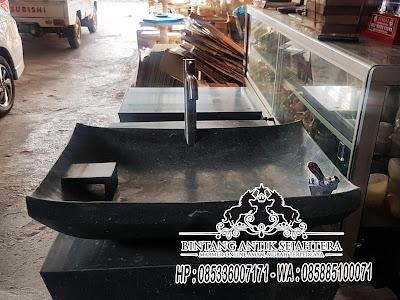 Wastafel Pedestal, Wastafel Batu Alam, Model  Wastafel Batu Marmer Tulungagung