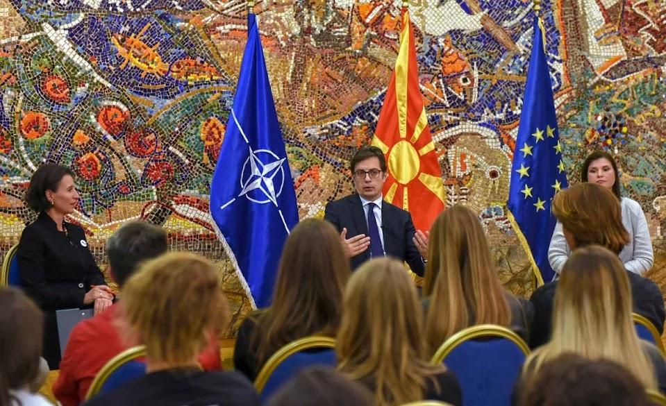 Ο Πενταρόφσκι, μιλά για «μακεδονική» μειονότητα στην Ελλάδα