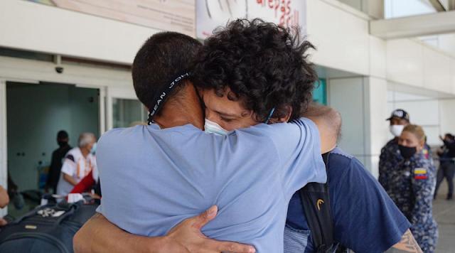 De Vuelta a la patria 200 venezolanos  desde Chile