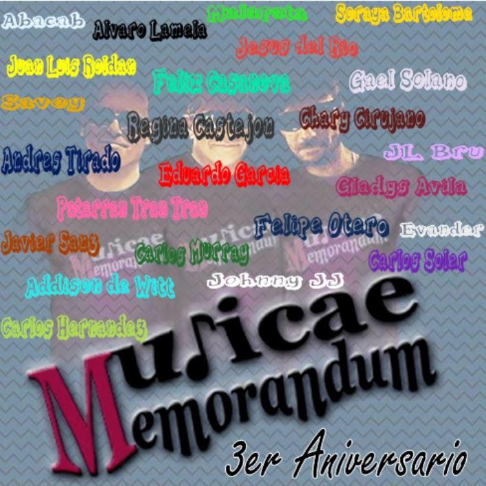 3er Aniversario Musicae Memorandum