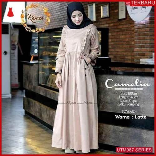 UTM087C90 Baju Camelia Muslim Dress UTM087C90 057 | Terbaru BMGShop