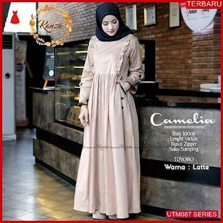 UTM087C90 Baju Camelia Muslim Dress UTM087C90 057   Terbaru BMGShop