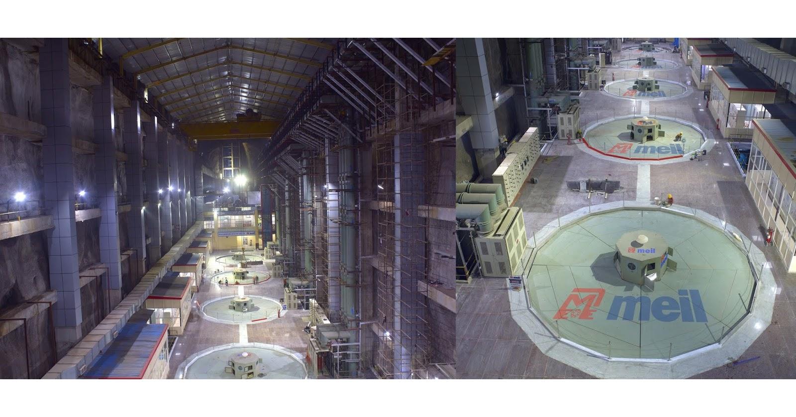 A maravilha da engenharia da MEIL converte o sonho de Telangana em realidade