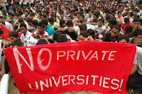 Image result for saitm protest inside health ministry building