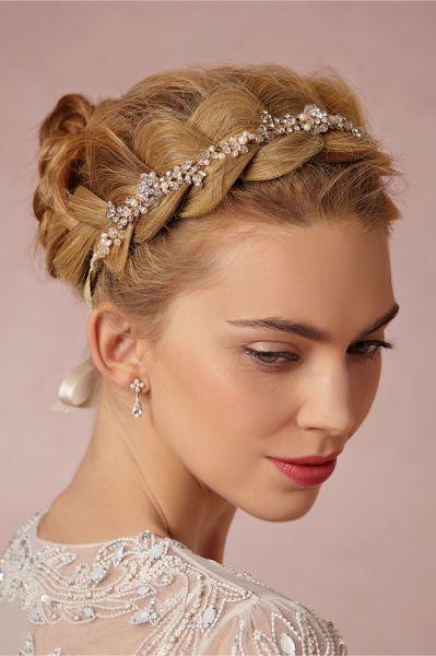 peinados de novias con trenzas