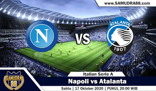 Prediksi Bola Terpercaya Napoli vs Atalanta 17 Oktober 2020