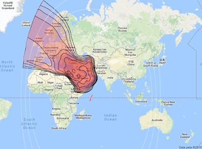 Satelit NSS 12 57.0°E KUBand