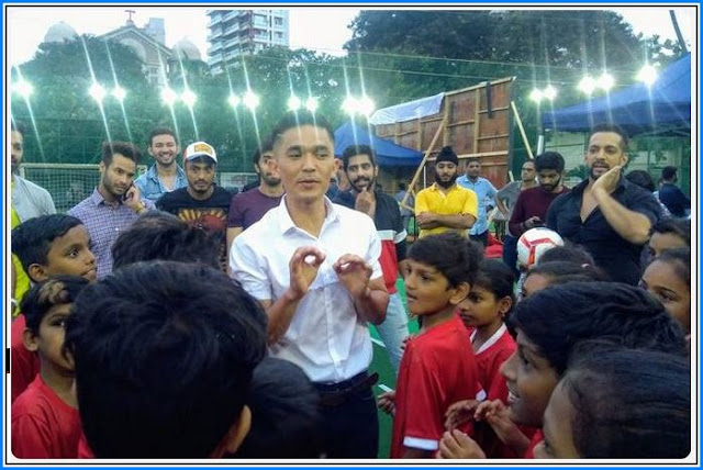A new role for Sunil Chhetri in football movie