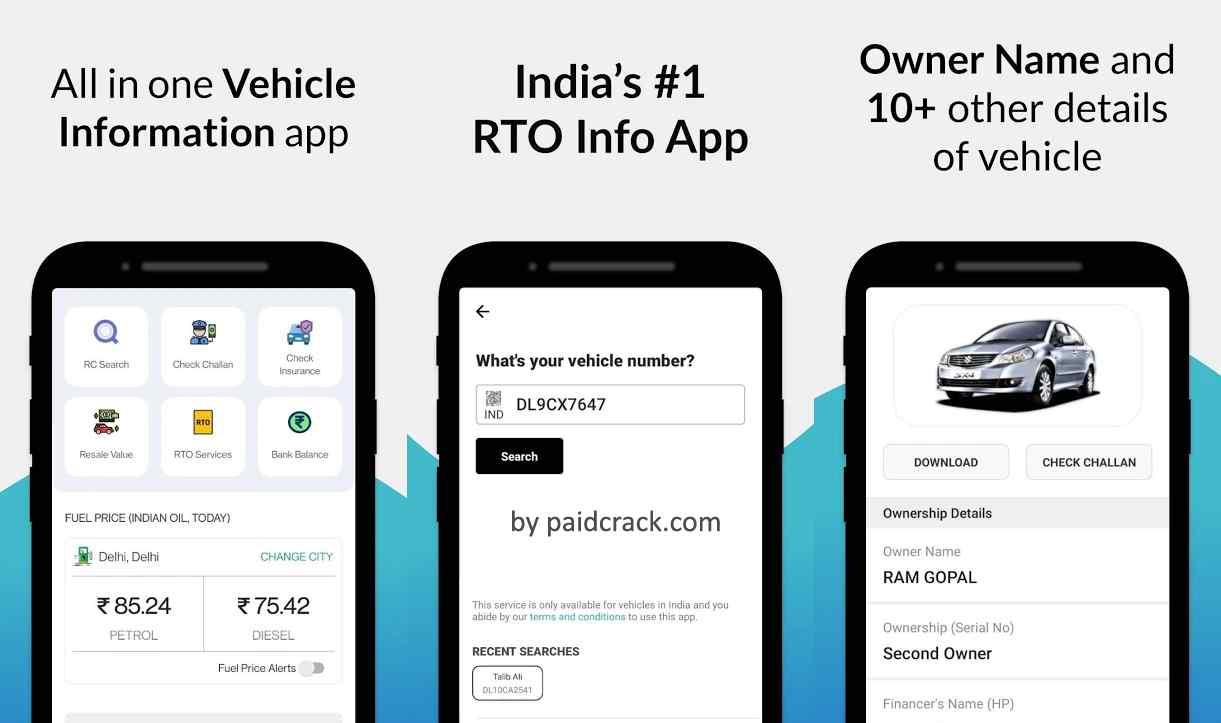 rto vehicle information premium mod apk 5.7.1