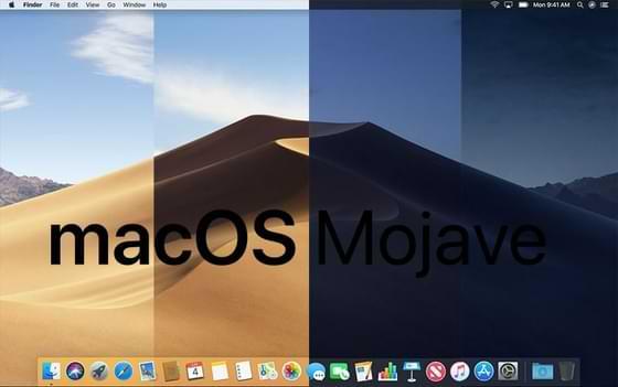 نظام الماك macOS Mojave - المميزات والأضافات مع تحميل النظام بروابط مباشرة