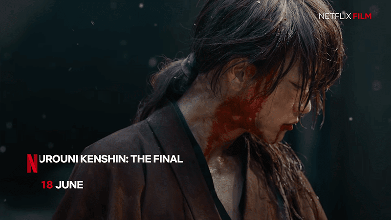 Rurouni Kenshin: The Final is coming to Netflix Philippines!