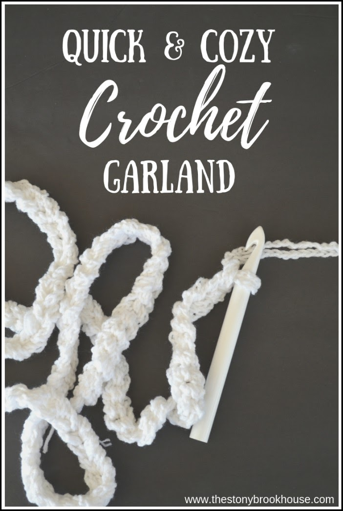 Quick And Cozy Crocheted Garland