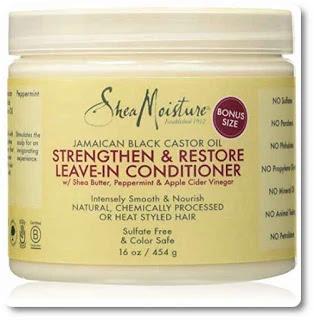 Shea Moisture Strengthen & Restore Leave-In Conditioner