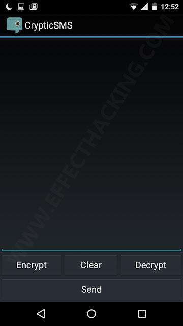 CrypticSMS Text Box