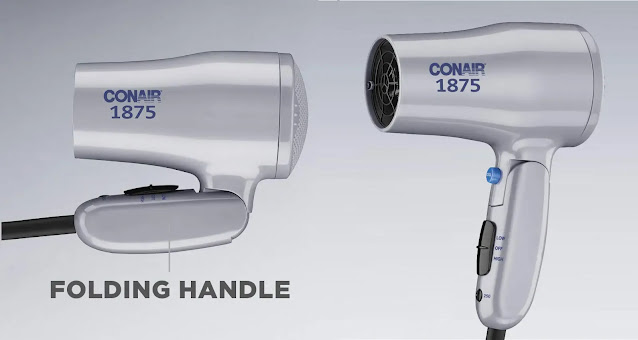 10- Conair Dual Voltage Hair Dryer