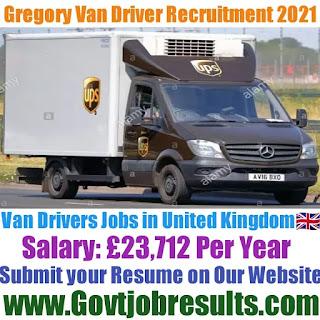 Gregory Van Driver Recruitment 2021-22