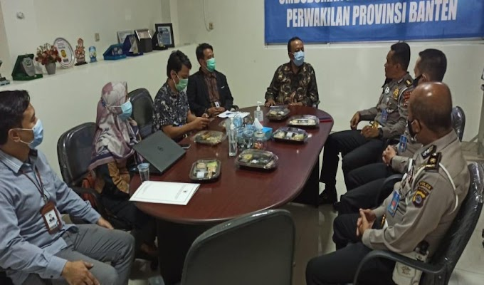 Ombudsman Banten Terima Kunjungan Jajaran Ditlantas Polda Banten