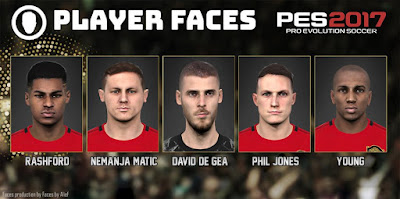 PES 2017 Facepack Manchester United 2019 by Alief