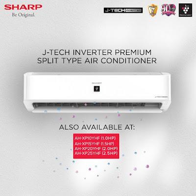 Sharp J-Tech Inverter Premium Split Type Air conditioner