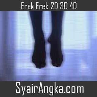 Erek Erek Hantu Kaki 2D 3D 4D