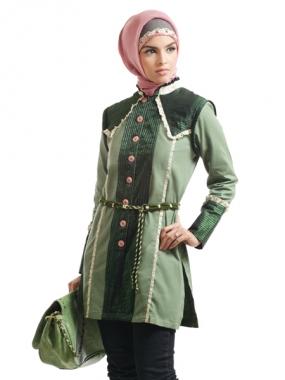 Contoh Gambar Model Model Baju Muslim Trendi Untuk Kuliah